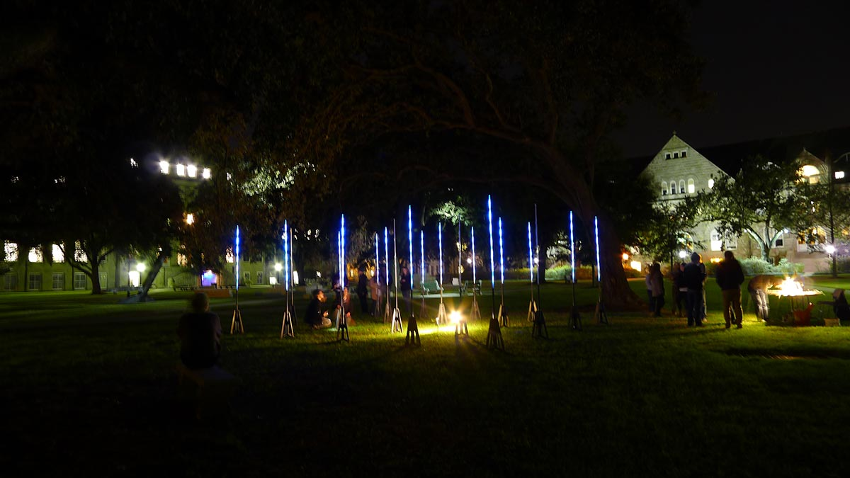 Overall view of the Tulane Quad