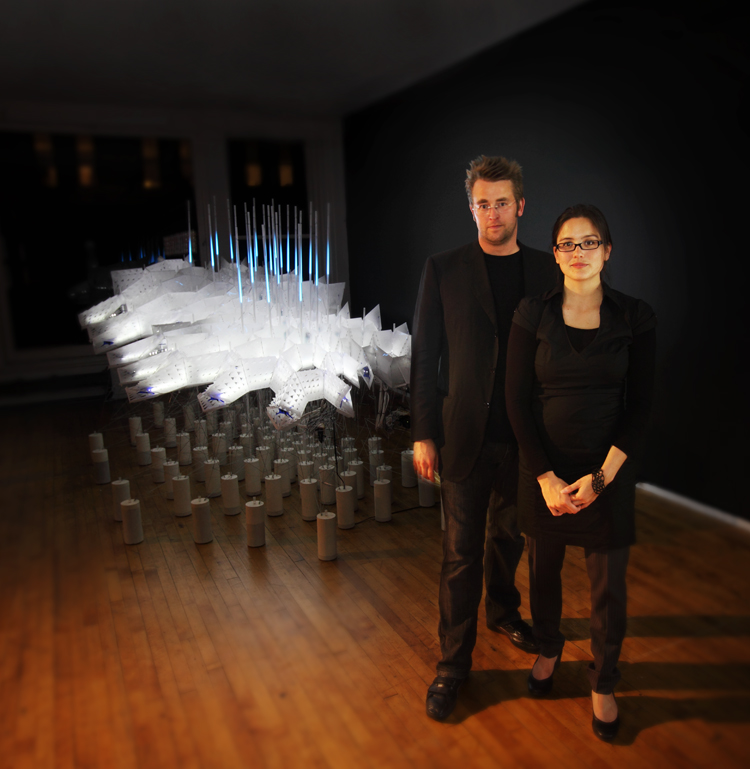 Jason Kelly Johnson and Nataly Gattegno