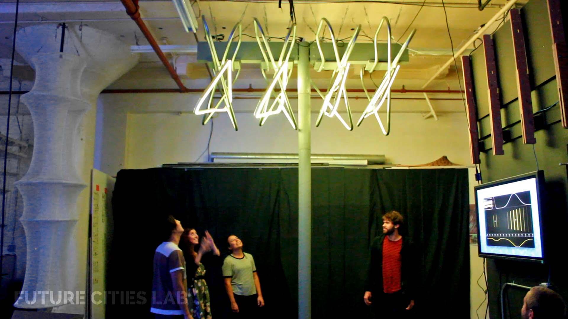 Lightweave Prototype Interaction with People