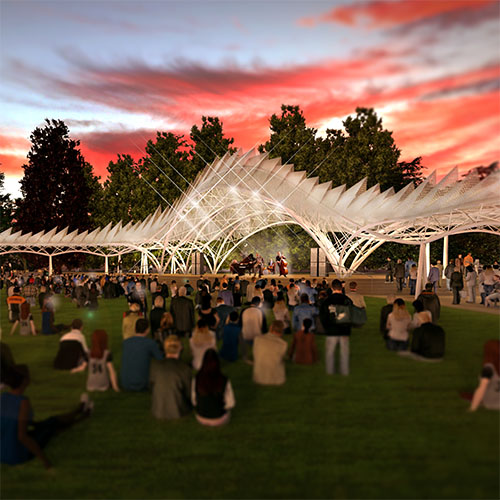 ST JAMES PARK LEVITT PAVILION COMPETITION