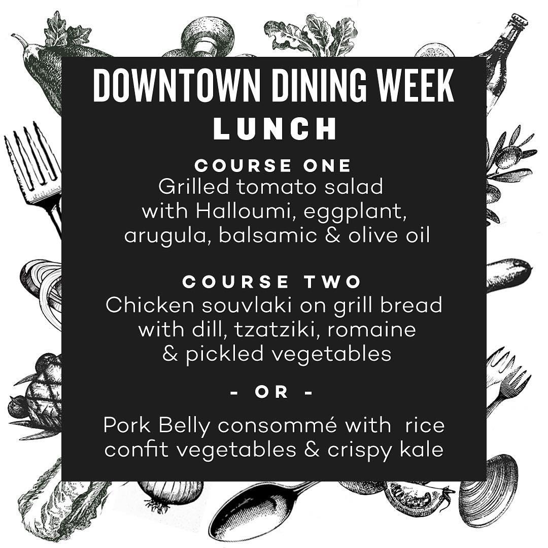the common restaurant edmonton menu downtown dining week