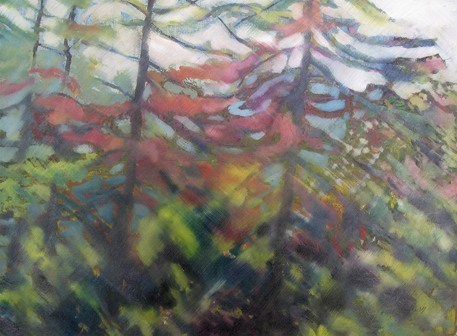 evergreen palette