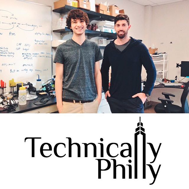 Thanks @technical_ly for showing @orange_maker some #philly #love for our east coast research labs and partnership with @drexeluniv #3dprinting #tech #startup #orangemaker #eastcoast #3dprint #technology #lab