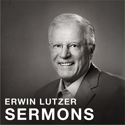 Dr. Erwin Lutzer  was the Senior Paster of The Moody Church for 36 years. He has also written many great books on theology and apologetics.