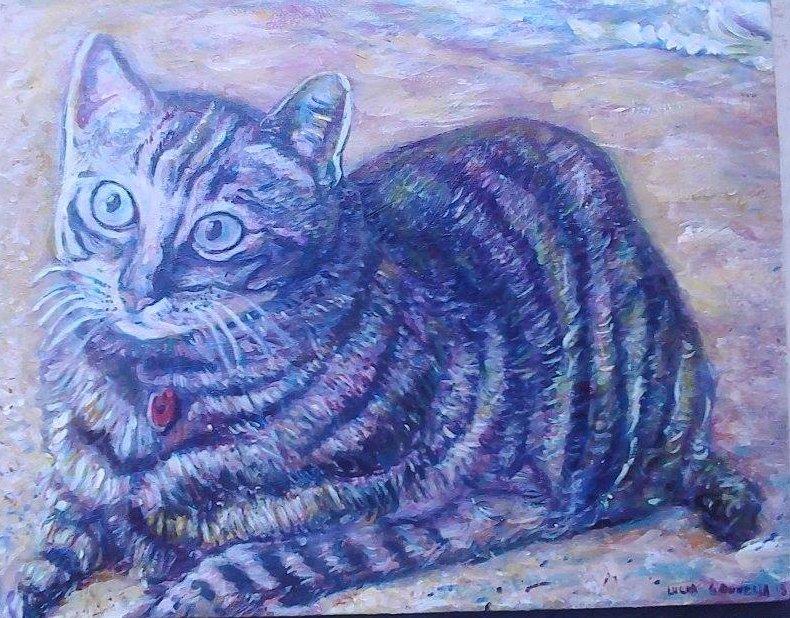Cat In Maui