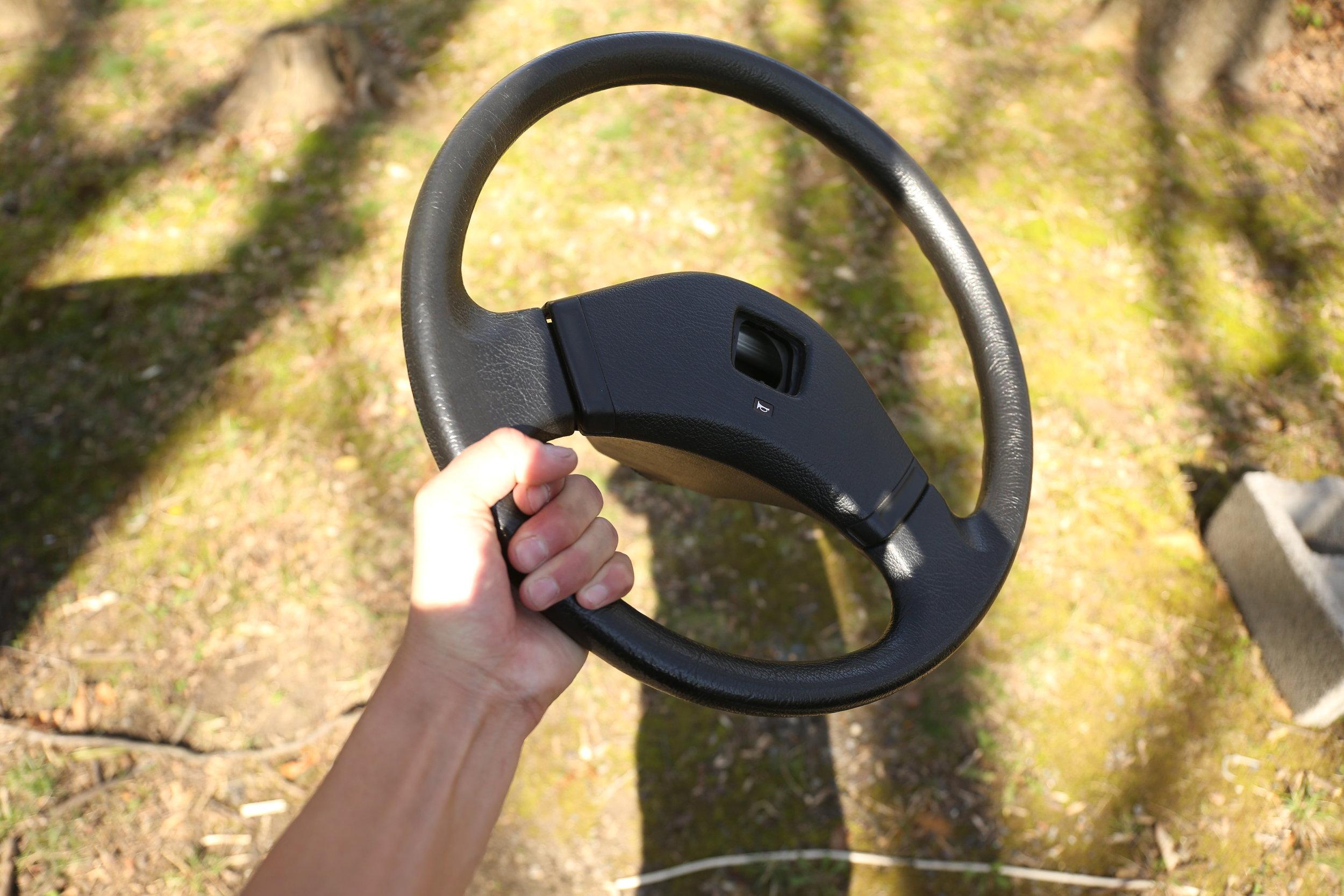 My old OEM wheel.