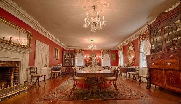 Kaminski House Dining Room