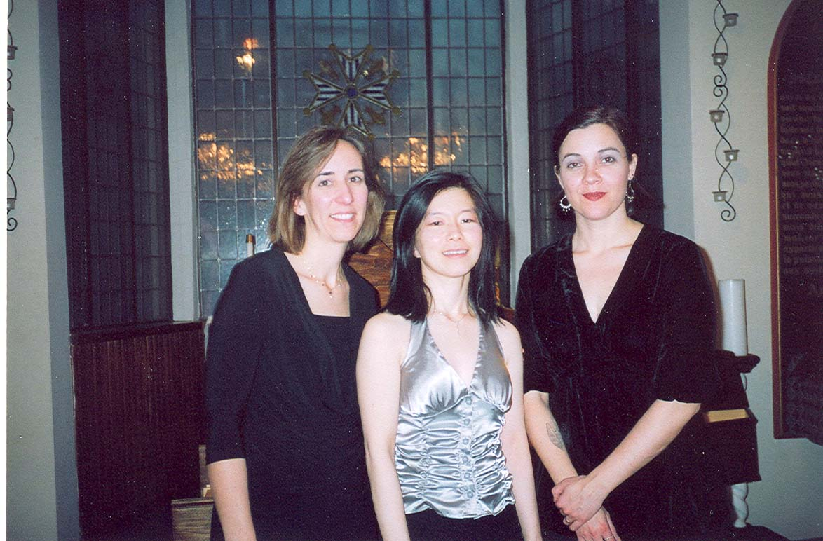 Susan Graham, Nancy Kito, Eve Miller