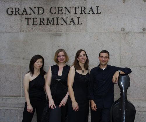 Nancy Kito (harpsichord), Marika Holmqvist (violin), Susan Graham (flute), David Himmelheber (cello)