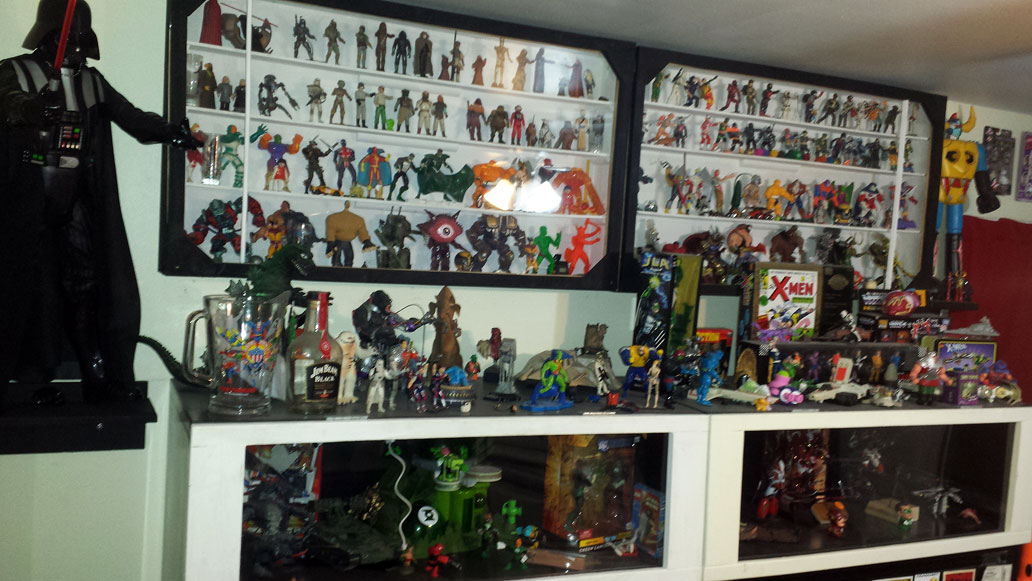 Some of our toy collection