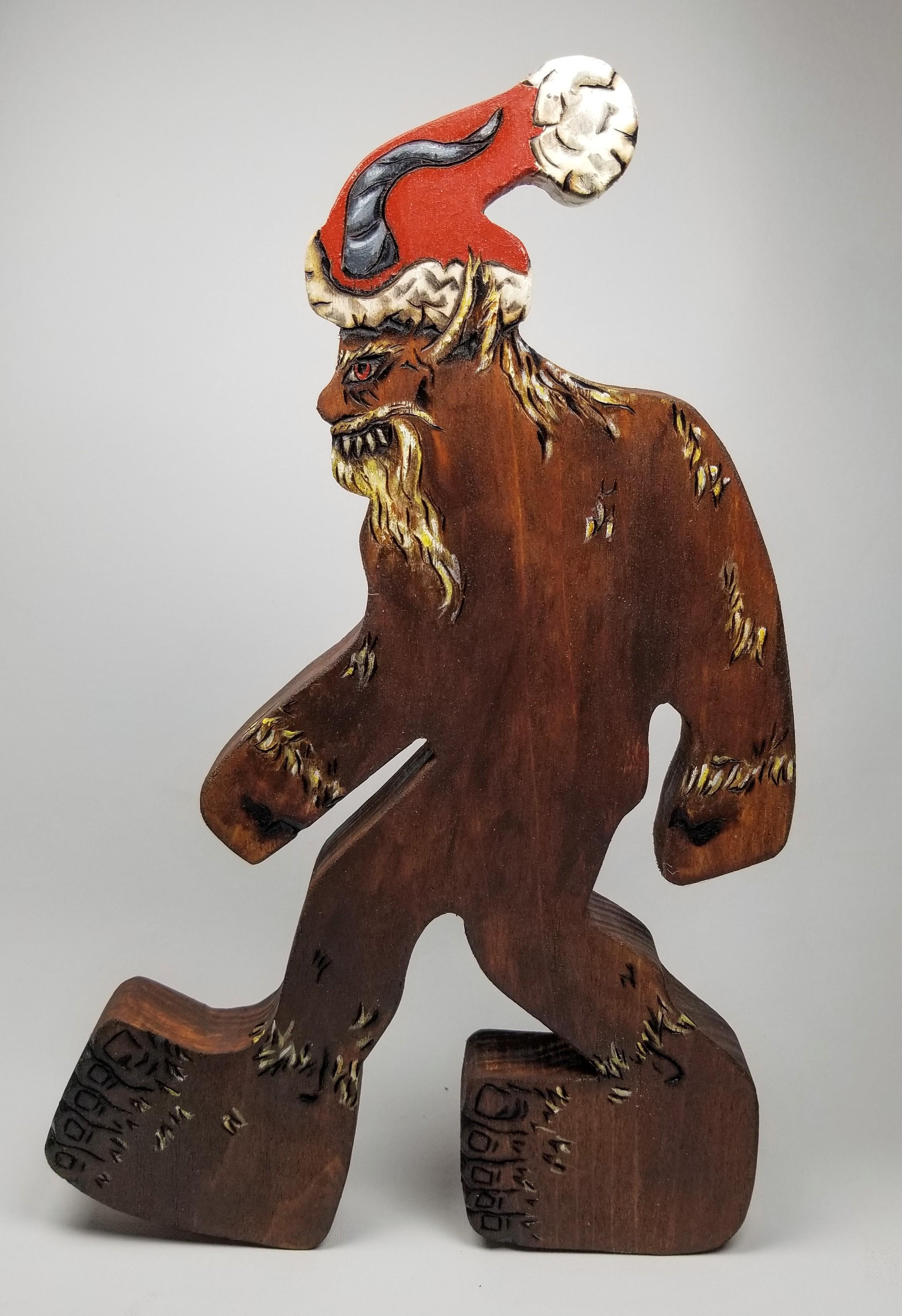 Bigfoot, Yeti, Sasquatch, Krampus!