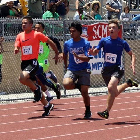 Andy Keehn at the SCMAF State Track Meet in the 100 meter championship race. #andykeehn #100m #tracknationusa  #scmaftrackchampionships #ocysa #ocysalife