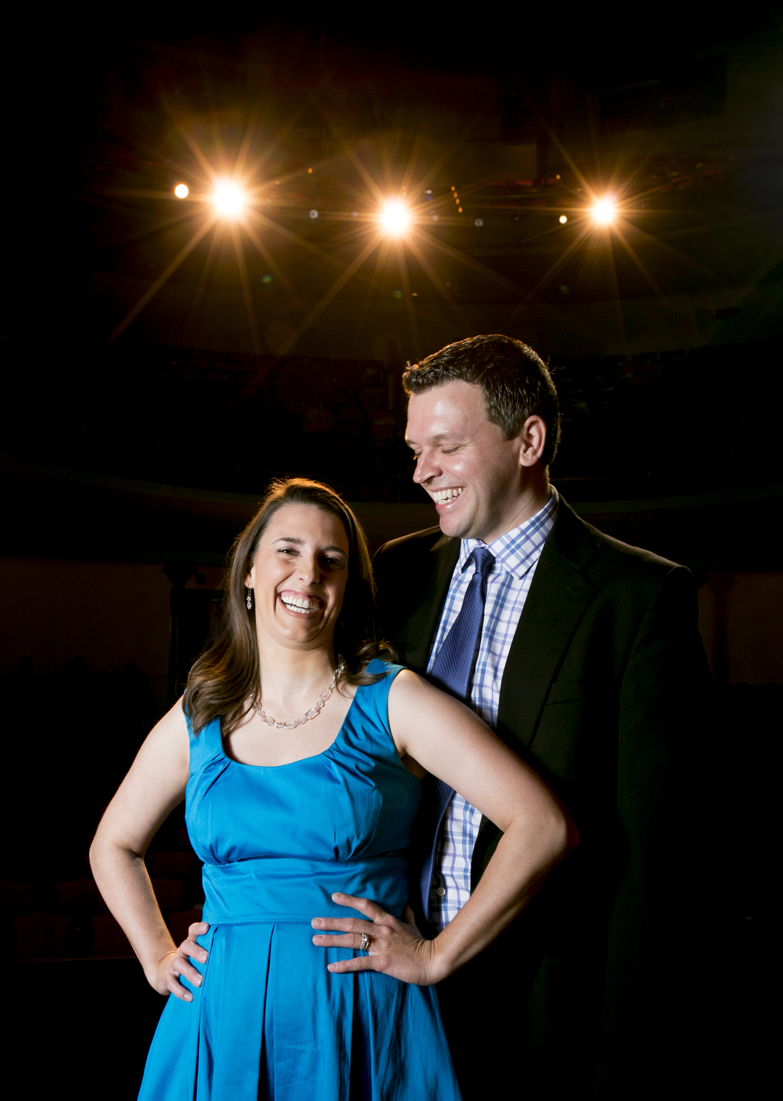 Lyndy Franklin Smith and Jeromy Smith of   The Lexington Theatre Company