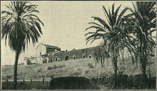 California's oldest mission, established in the Mission valley near San Diego by Junipero Serra in 1769. (Photo: Fitch Studio)