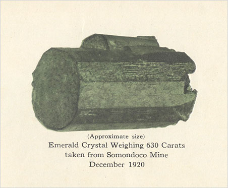 The length of this crystal is approximately 4.3 cm.