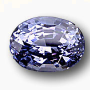 This 13.16-ct. rare violet spinel also comes from Burma.   Ask for Inventory #417. (  Photo:   John McLean   ; Gem: Pala International)