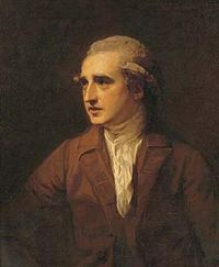 A portrait of Charles Greville by George Romney