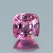 Pinky ring? This natural, 4.06-carat cushion-cut spinel from Burma is attractively priced. Inventory  #19633 . (Photo: Mia Dixon)