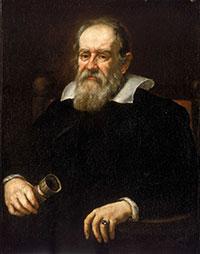 Portrait of Galileo Galilei by Giusto Sustermans, 1636.