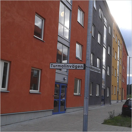 Tourmaline Way in a new section of Kungsbacka, Sweden. (Photo: Mia Dixon)