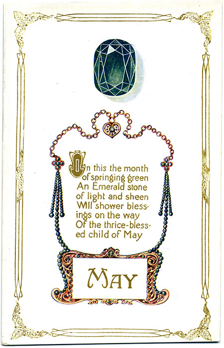 Two other collecting cards for May are  available here .