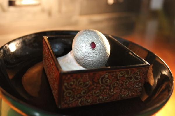 Silver and stone brooches like this fund Akhaya Women. Someday they will be fashioned by those of the group's namesake. (Photo courtesy Akhaya Women)