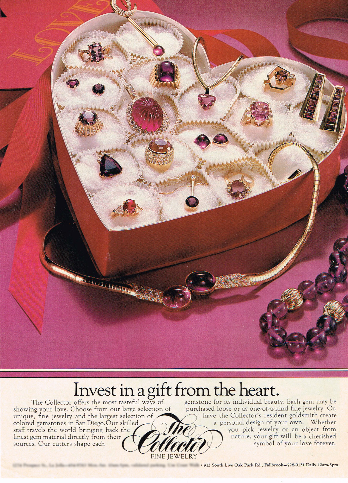 Vintage Valentine.  This ad, from the archives of Pala International's sibling enterprise, reminds us of how much we treasure the clients who have supported us over the decades. Thank you!