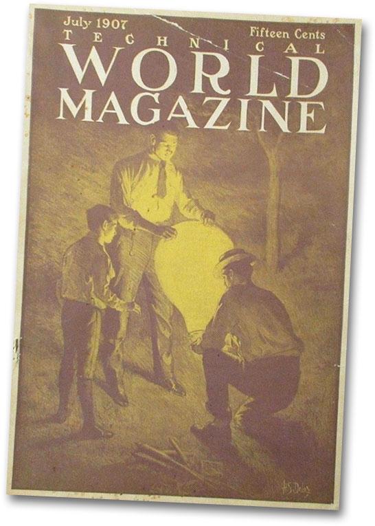 Technical World Magazine Cover