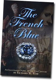 As well as composing the  Gem Spectrum  series, Gabrièl found time to  review  Richard Wise's historical novel  The French Blue .