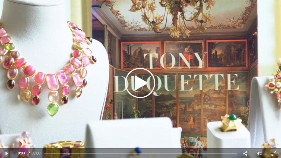 """This edition of   Frank's Files   takes a pre-sale look at jewels from Tony Duquette, as well as background on the designer, who worked in film, theater, interiors, as well as jewels.See also this  """"First Look"""" slide show  of the jewels."""