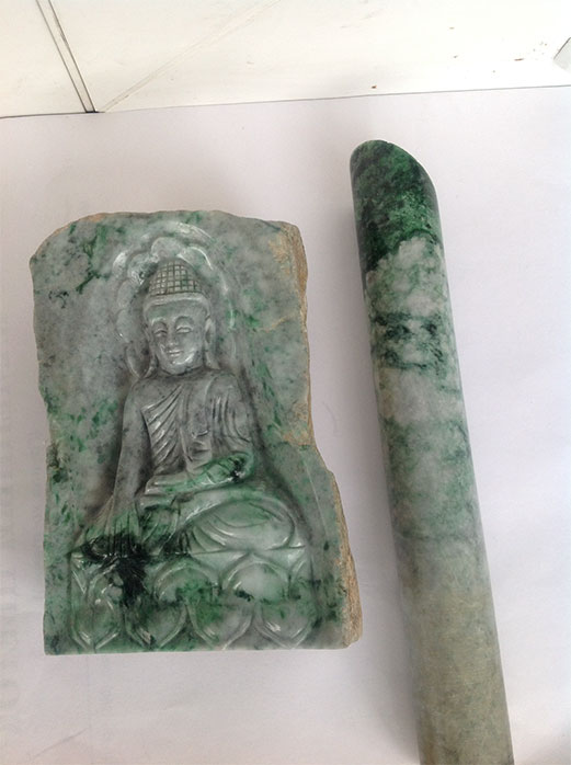 Buddha Carving and Core