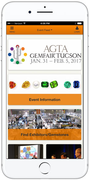 Read about the AGTA GemFair app  here .
