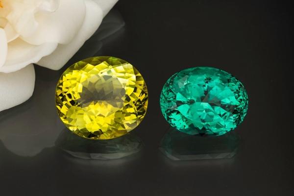 Tourmaline: Yellow and Green
