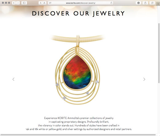 Ammolite is of interest to both mineral enthusiasts as well as those of jewelry.