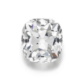 "The ""Tenner"" diamond. (Photo: Sotheby's news release)"