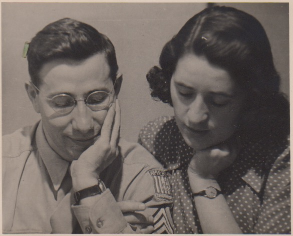 Gerson and Judith Leiber in London, 1946. (Photo courtesy of Judith Leiber)