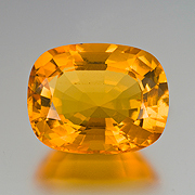 Big and bold.  From the Hukawng Valley, this 32.57-carat amber is sure to catch the eye. Inv.  #19520 . (Photo: Mia Dixon)