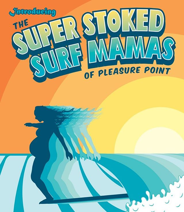 OPENING NIGHT PARTY TOMORROW ~~~ Thursday October 10th  6:30-9 pm at @scmbrew  Free pizza courtesy of @pleasurepizzasc ~~~ Surf films start at 7: Within Reach by @mike_cochran featuring @joshmulcoy  The Super Stoked Surf Mamas of Pleasure Point by @otwfront @surfmamas AND Rocket Science by Patricia Dameron featuring @cavemanartsandcrafts ~~~ SEE YEW THERE!!!