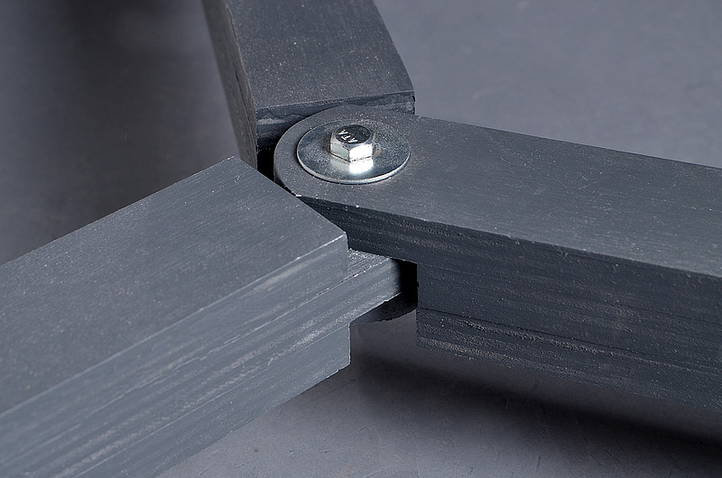 Universal Light Stand Dolly - Joint Detail