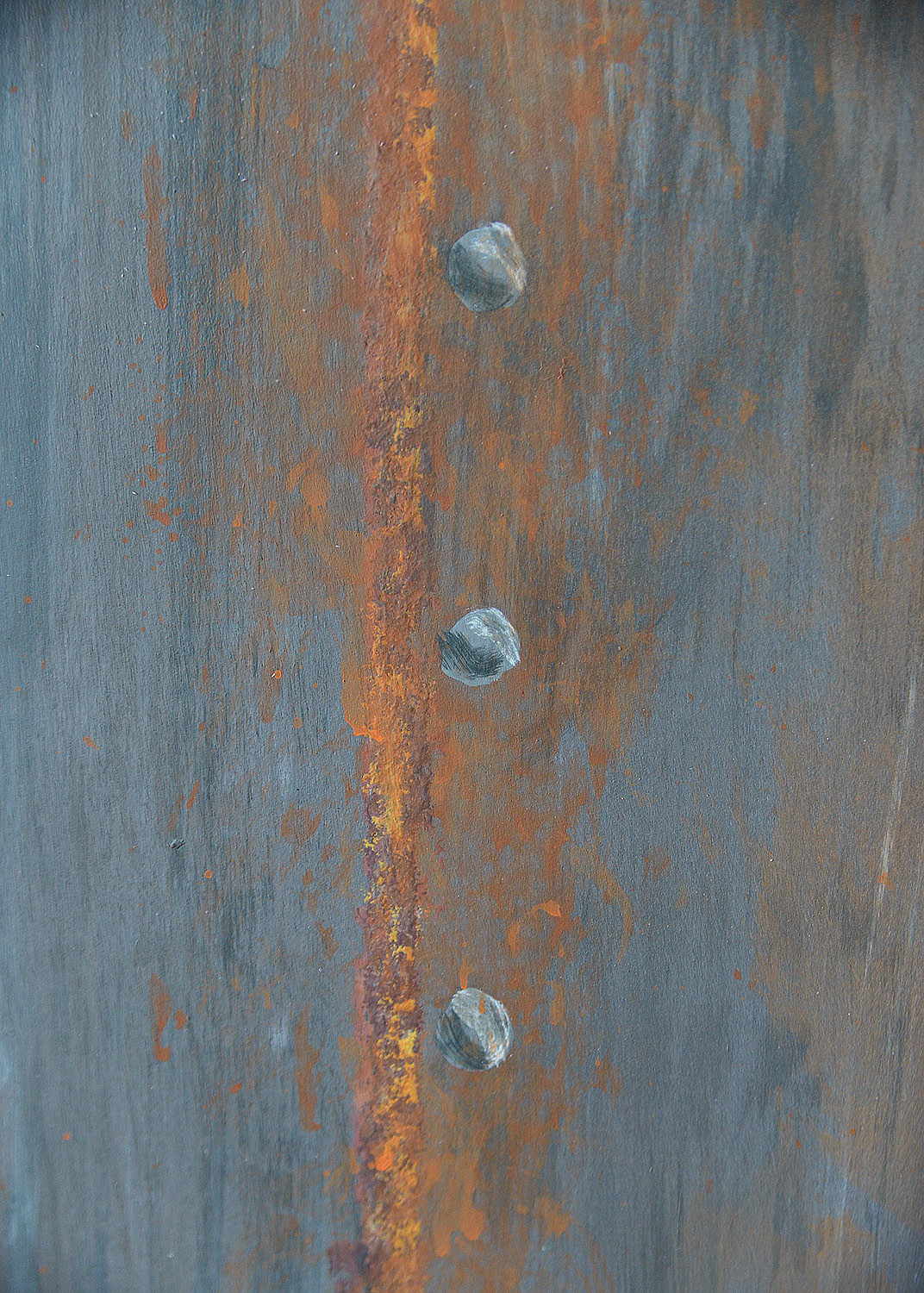 Faux Painted Rivets