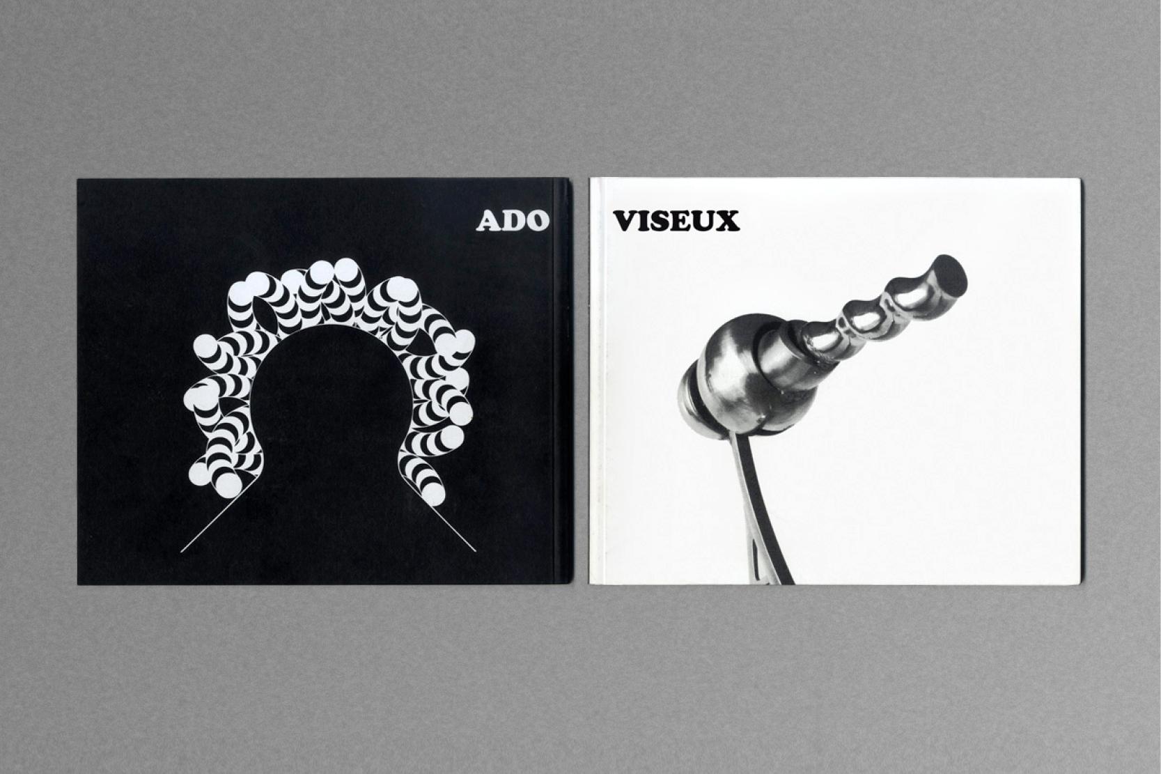 Ado Sato & Claude Viseux ,Catalogue exhibition.