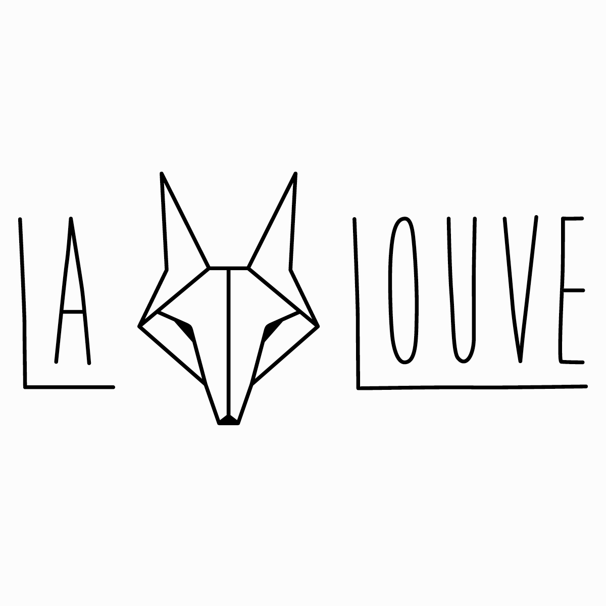 Logo & visual identity for  La Louve , New York City's recycled leather-made backpacks. 2015, Brooklyn, USA.  View Project