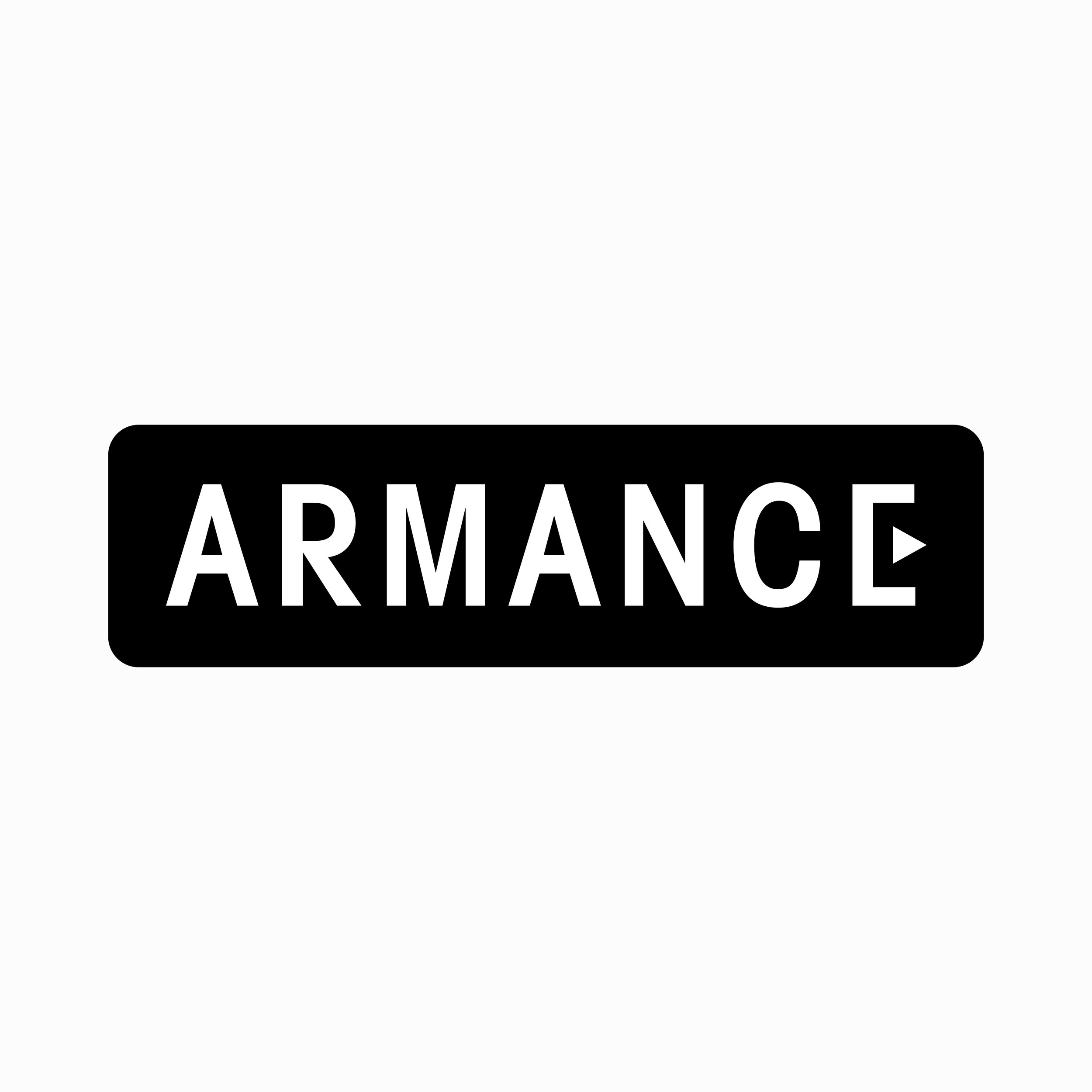 Logo for  Armance , a film production company .  2016, Paris, France.