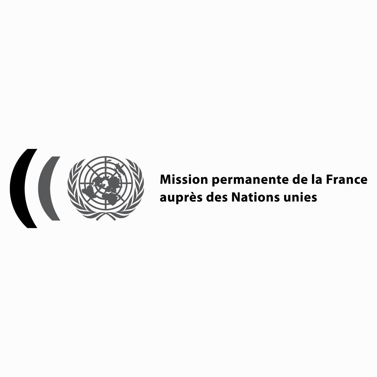 Logo lifting for the  Mission permanente de la France auprès des Nations Unies . 2015, New York, USA.