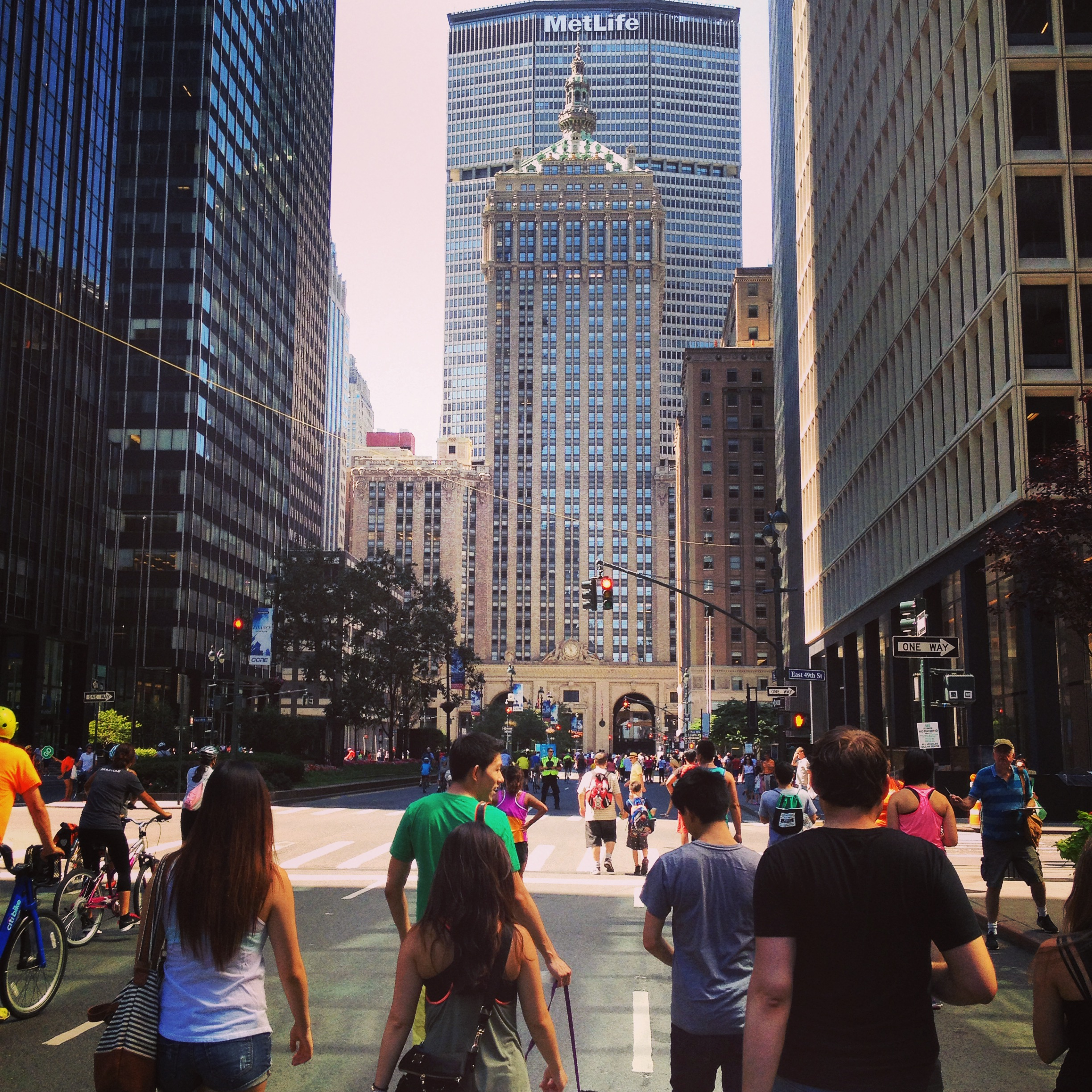 Grand Central Terminal as seen during Summer Streets 2014