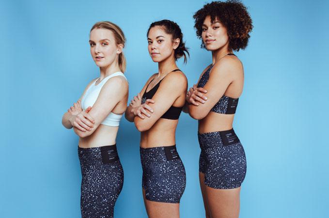 Caitlin Foster x Oiselle - Original print design for women's running company Oiselle.
