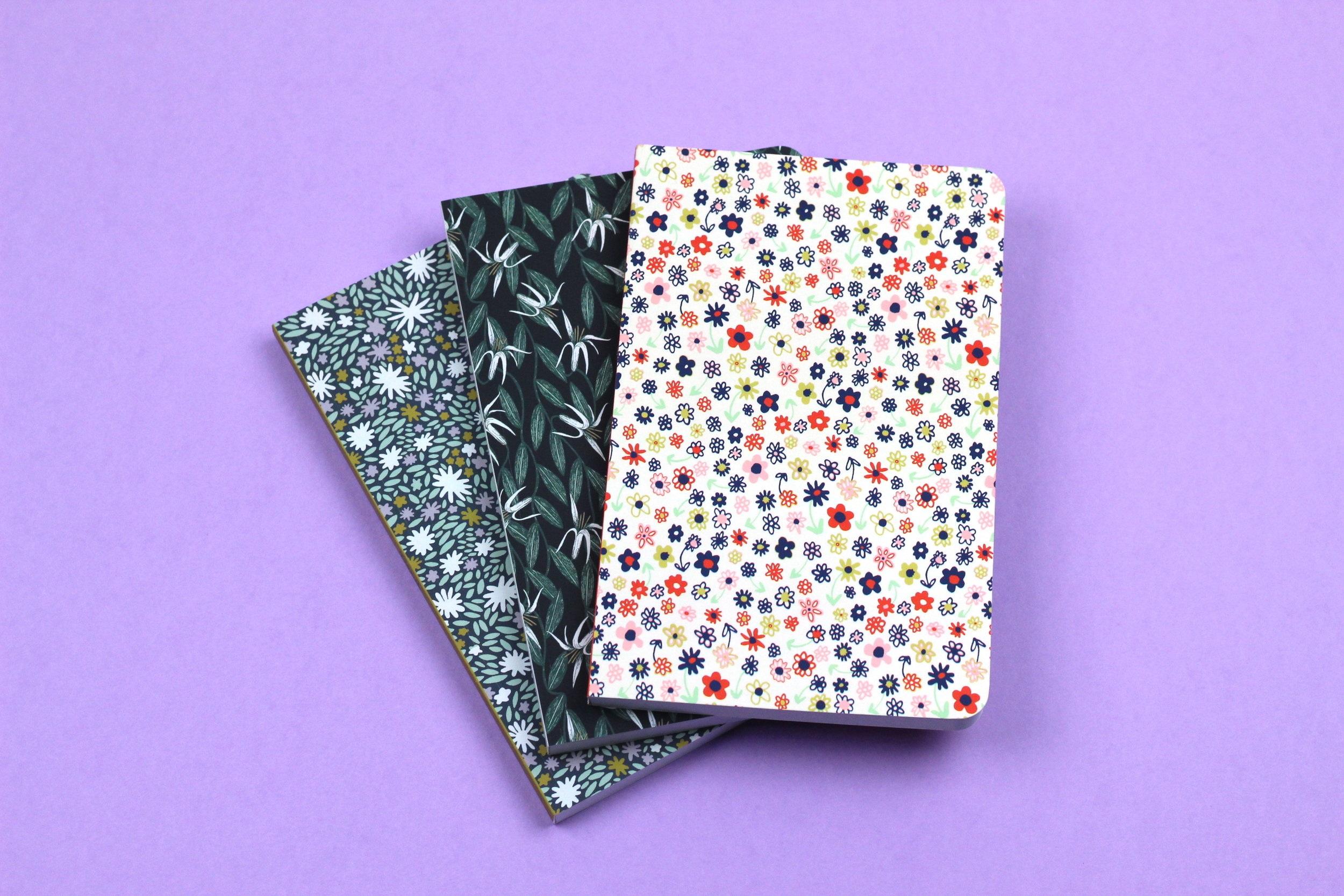 Caitlin Foster x Denik - Original print design for notebook company Denik.