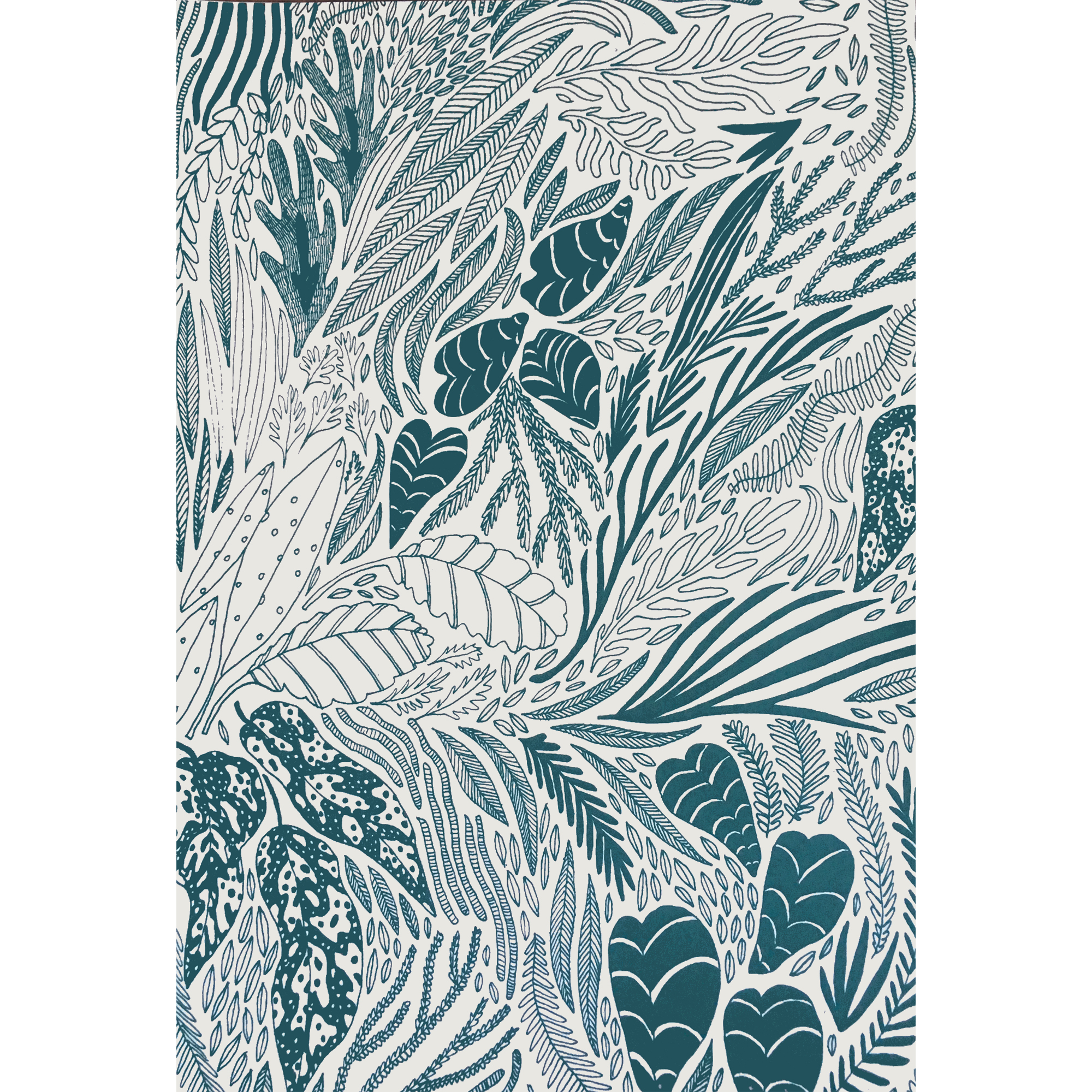 Caitlin Foster x The Sill - Three silkscreened botanical prints for sale at The Sill