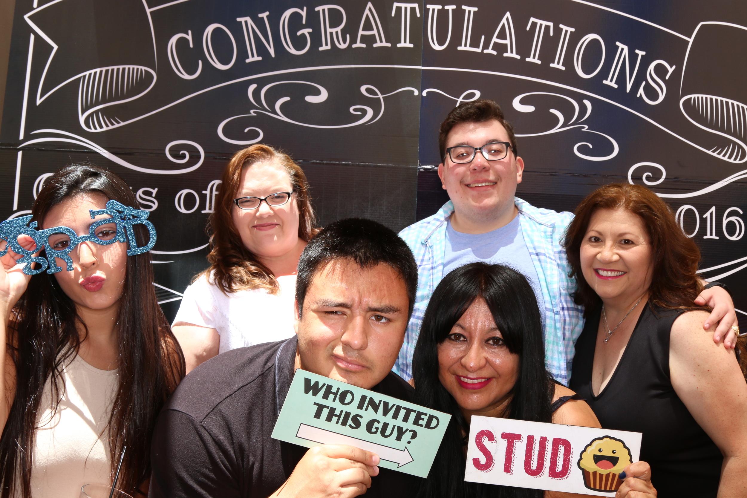 Ricky's College Graduation