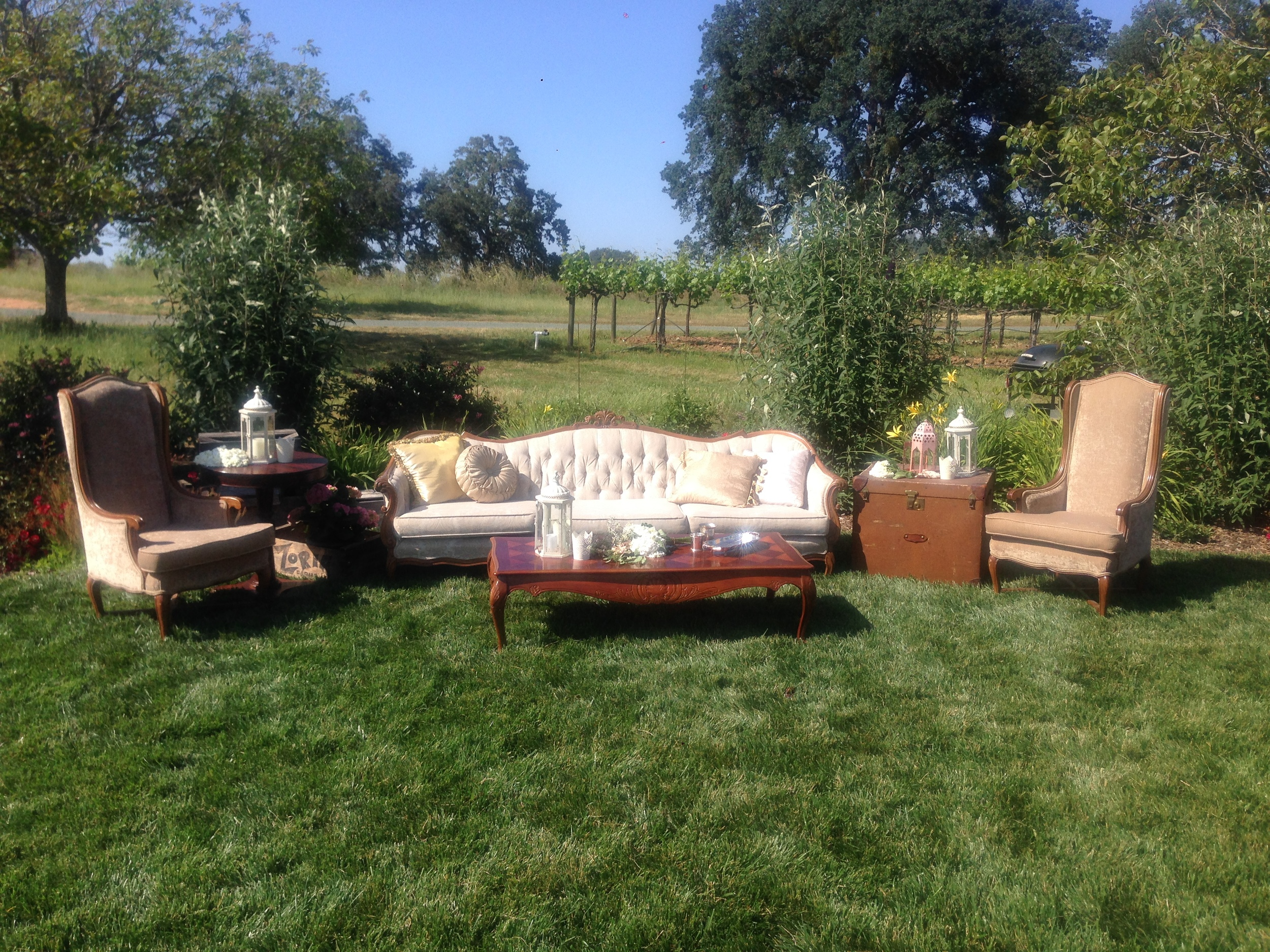 Dogwood Party Rentals Vintage Lounge